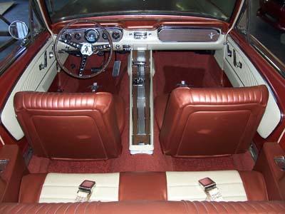 1964 1/2 Ford Mustang Interior