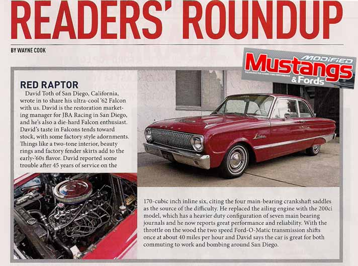 Modified Mustangs and Fords Reader's Round Up - April 2010