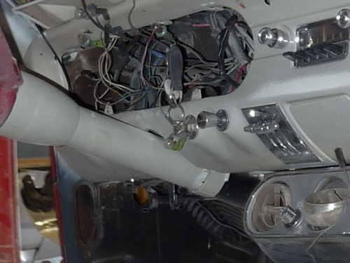 1965 Ford Mustang Instrument Cluster Opening