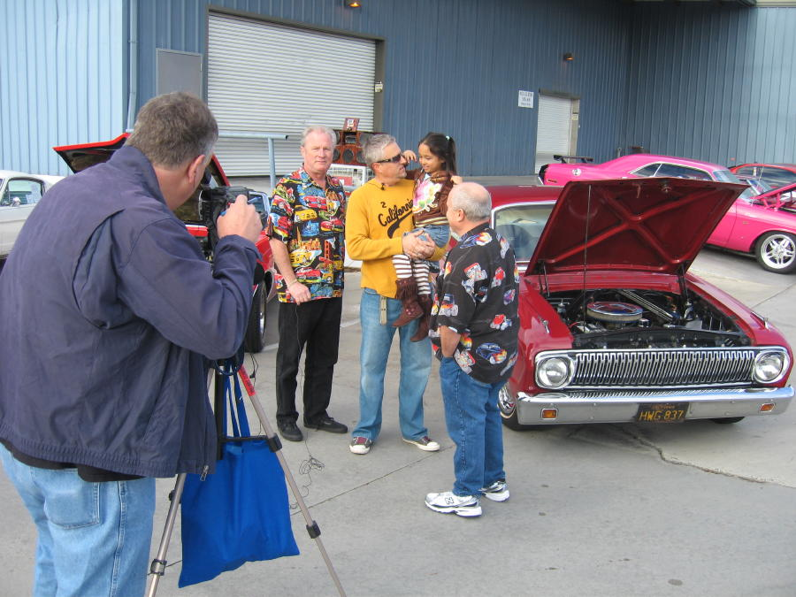 Interview with Dave Stall and Mark Maynard with my 1962 Ford Falcon
