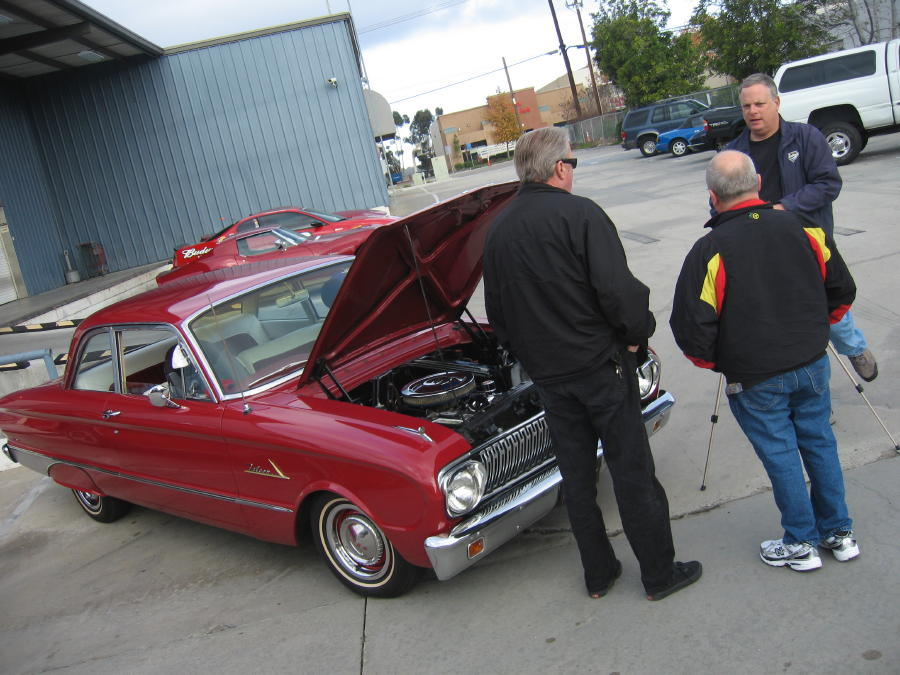 1962 Ford Falcon with Dave Stall and Mark Maynard
